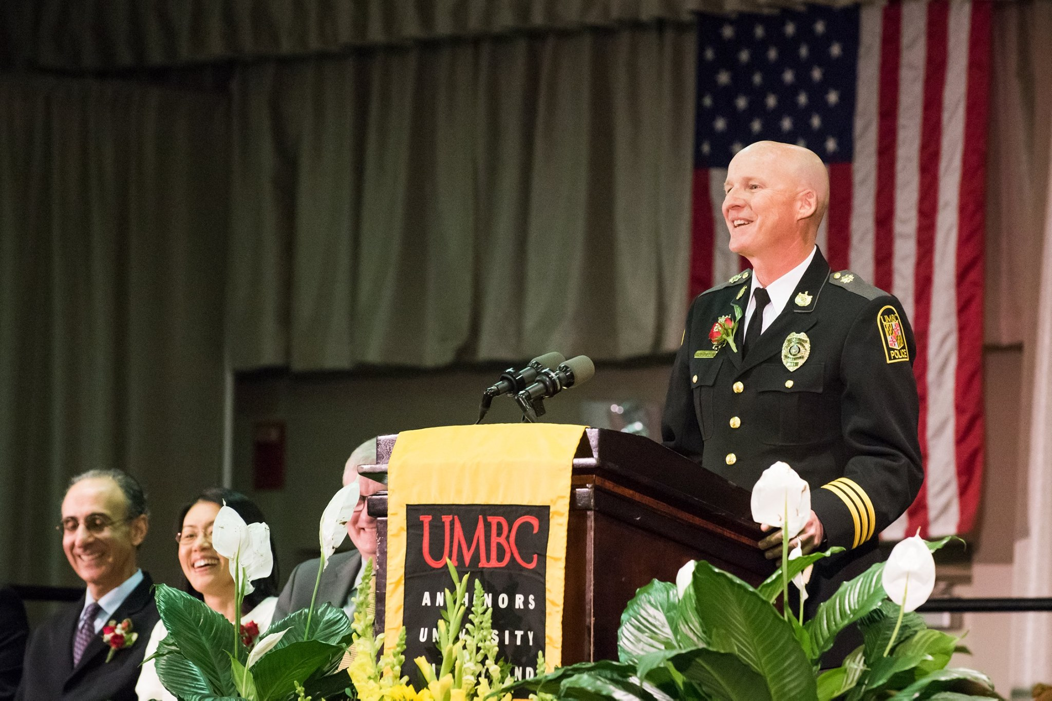 Paul Dillon Received University System of Maryland Board of Regents' Staff Award for Exceptional Contributions to the Mission of UMBC